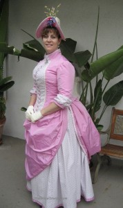 1886 Pink Bubble Gum Diamonds Dress