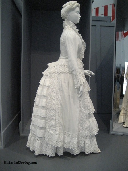 1885 White Cotton Dress at LACMA