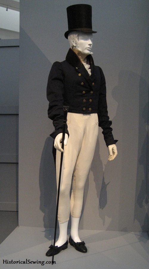 c.1825-30 Gentleman's outfit held at LACMA