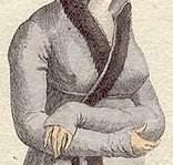1802 Lavender Pelisse Sleeve (plate)