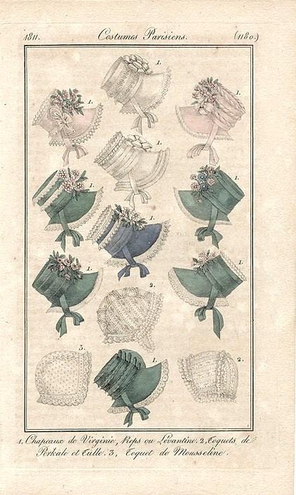 1811 Chapeaux de Virginie
