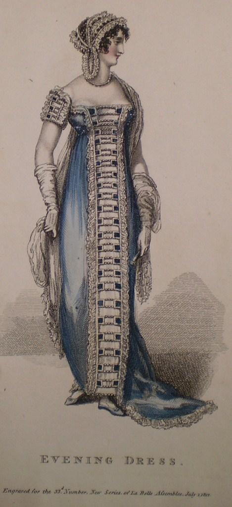 Deconstructing an 1812 Evening Dress Trim