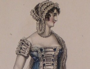 1812 July Evening Dress bodice