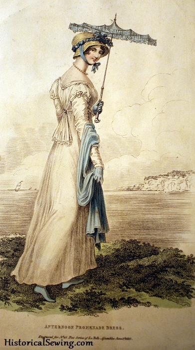 1813 Afternoon Promenade Dress