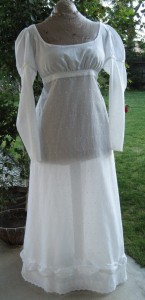 Regency Curtain Dress