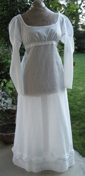 1813 Voile Dress front