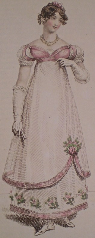 Fabrics for Danceable Regency Ball Gowns