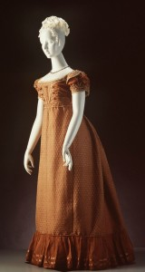 Deconstruction: 1820 Copper Evening Gown