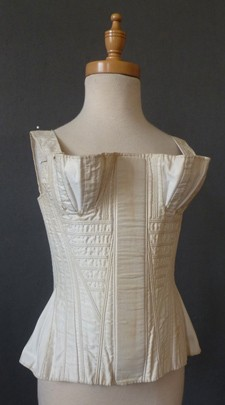 1820s Corded Corset from Meg Andrews Auctions