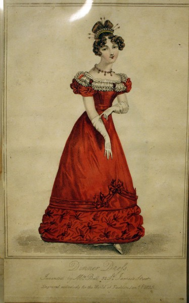 Jan. 1, 1825 World of Fashion