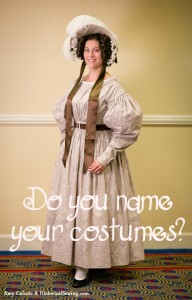 Naming Your Costumes