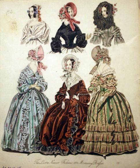 1838 Morning Dresses