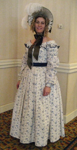 1839 Dress with JoAnn Fabrics cotton