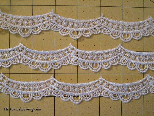 1844 Dress Lace