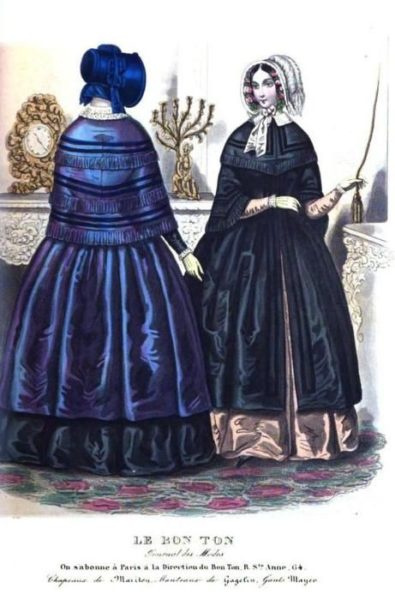 1845-bonnet-mantles-le-bon-ton