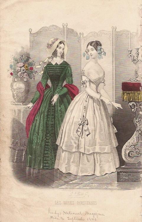 1846 September - Les Modes Parisiennes
