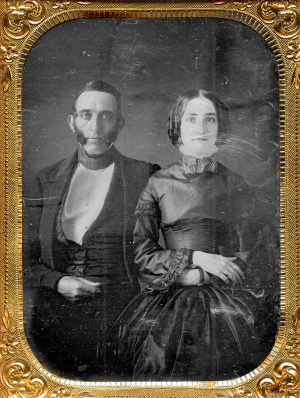 1850 Mr & Mrs Chester W Pomeroy Photo by Thomas M. Easterly