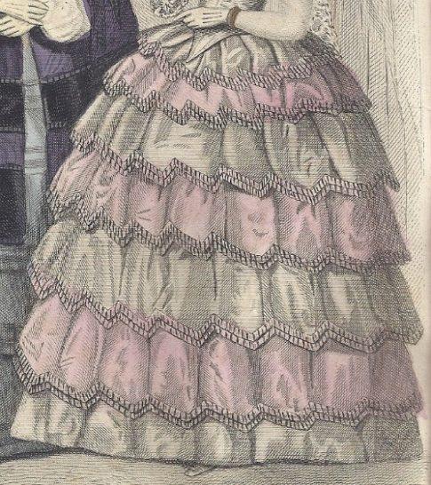 1855 Jan Godey's Plate