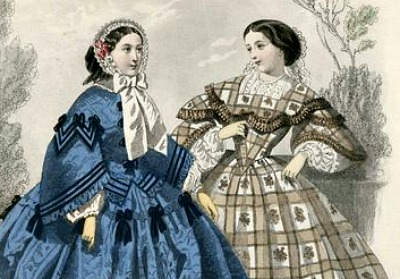 Flatlining 19th Century Sleeves - 1858 wide sleeves