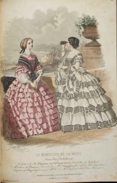 Le Moniteur de la Mode, summer 1859