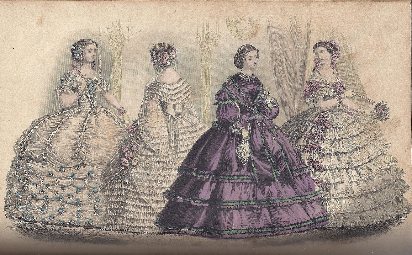1861 & Dressed for a Party