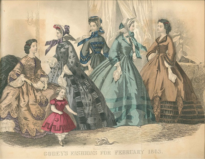February 1863, Godey's Lady's Book