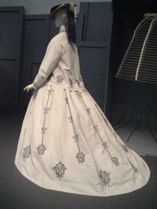 1864-69 Skirt with Hem Facing at LACMA Museum