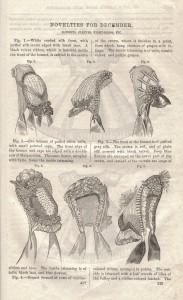 1864 December Bonnets