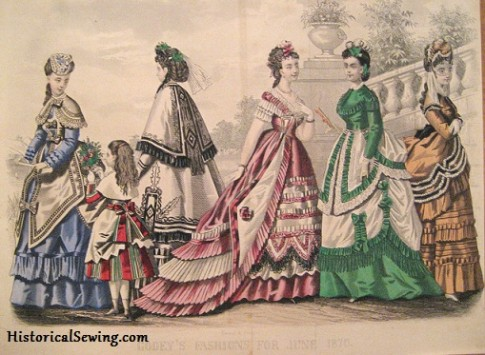 1870 June Godey's Lady's Book