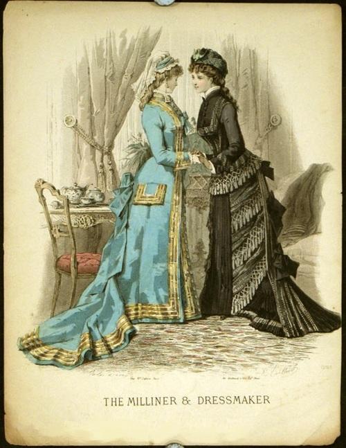 1870s The Milliner and Dressmaker