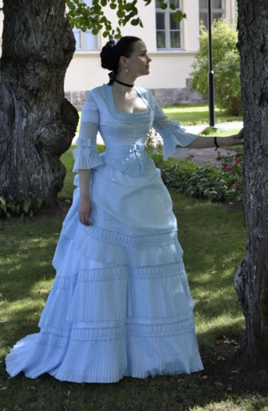 Early 1870s Tissot Dress by Merja - The Aristocat