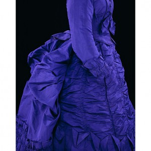 Oh, For Pretty Purple Bustle Gowns!