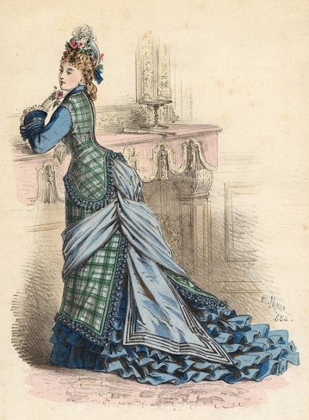 1875 July L'Elegance Parisienne