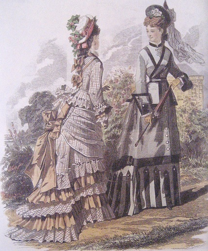 June 1875 fashion plate