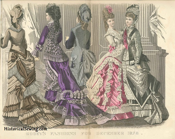 December 1876 Godey's Lady's Book