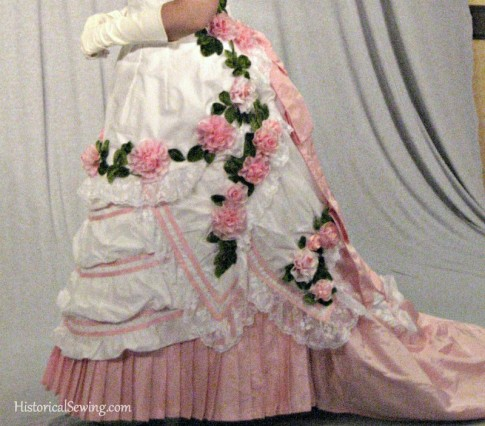 1876 Gown Left