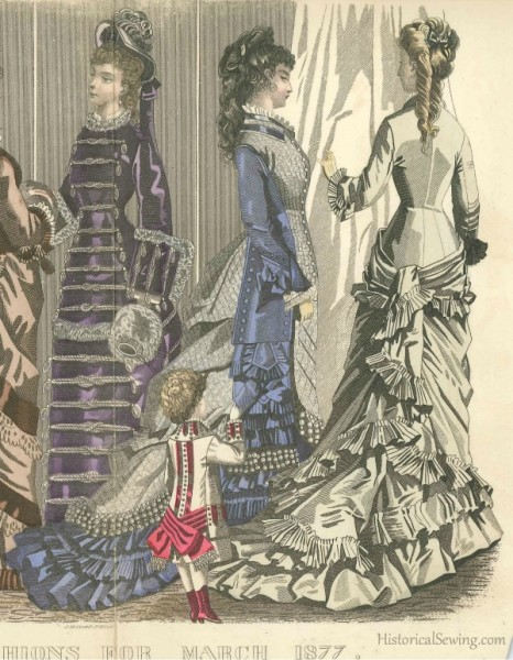 1877 March house dresses