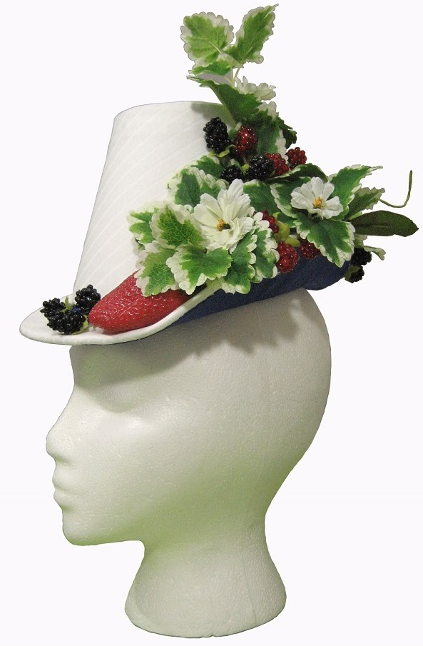 1880s Berry Hat