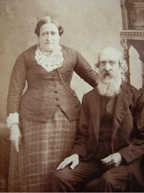 1880s couple