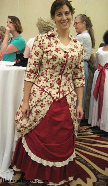 1883 Red Caramel Apple Dress