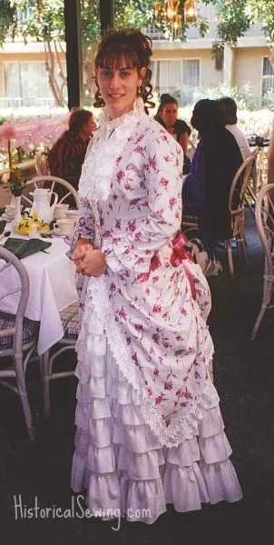 1883 Summer Rose Dress at Costume College 2000