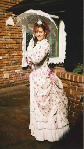 1883 Summer Rose Tea Dress