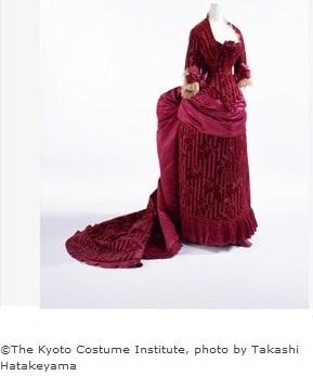 1883 Velvet Gown Kyoto
