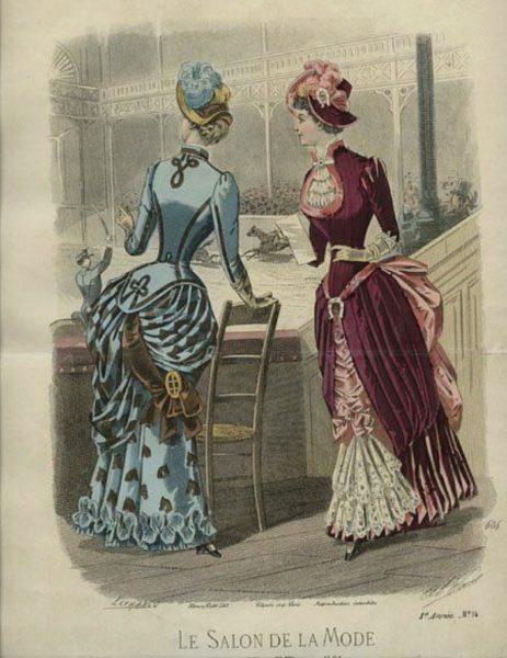 1883 Le Salon de La Mode