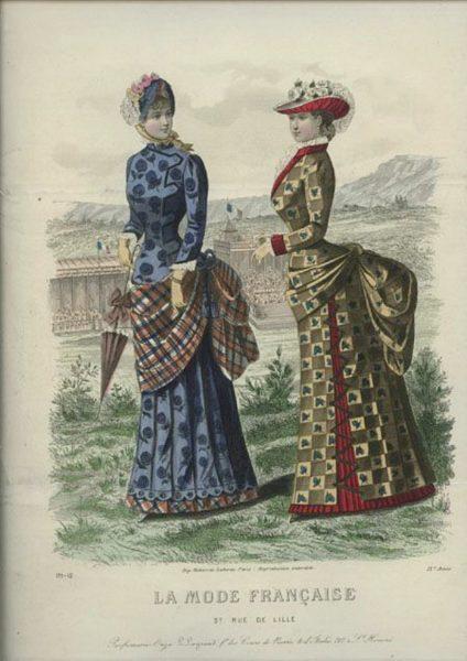 1883 La Mode Francaise