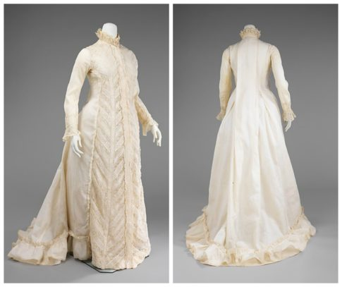 1885 Dressing Gown Met | 1880 Vanilla Dressing Gown