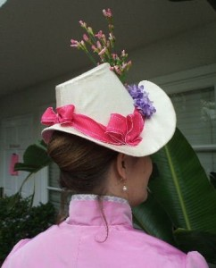 The 1886 Ivory Spring Hat