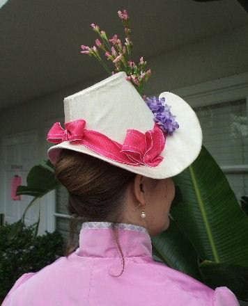 1886 Ivory Spring Hat