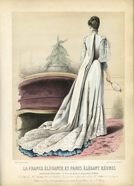 1886 La France Élégante et Paris Élégant Réunis