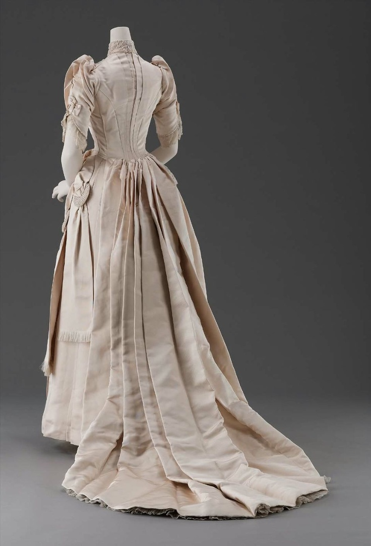 1889 American Wedding Dress MFA